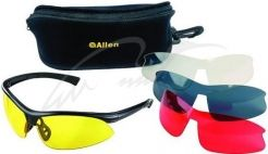 Очки стрелковые Allen Pro Class 4 Lens Combo Set With Case. Линзы -  поликарбонат ( d222f9f87d213
